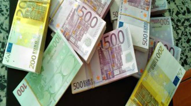 soldi sequestrati dogana