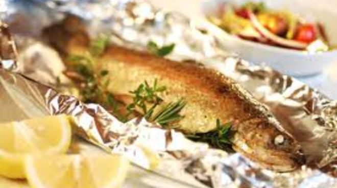 piatto pesce lago