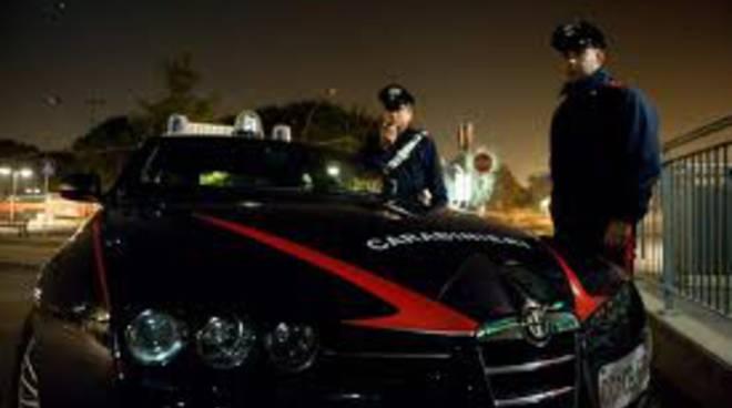 posto blocco notte carabinieri