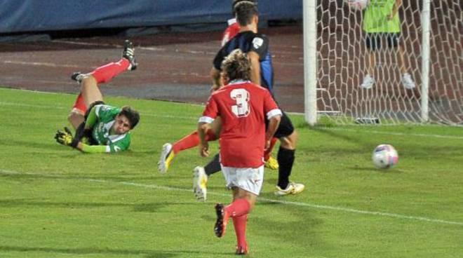 Crispino superato, Renate in gol