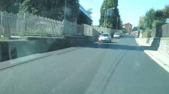 via oltrecolle asfalto