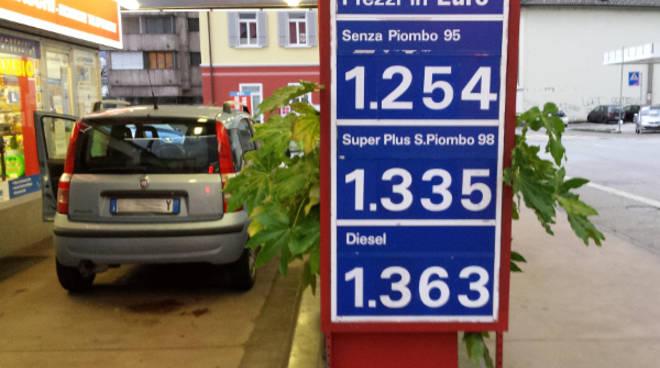 benzina svizzera
