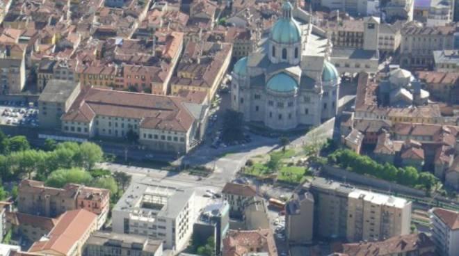 como vista dall alto