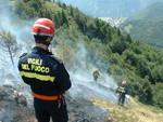 pompieri bosco incendio