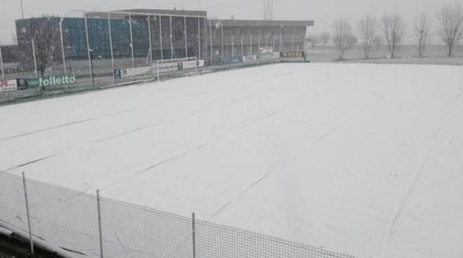 campo con neve