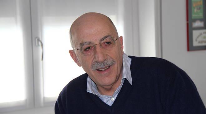 Daniele Brunati negli studi di Como Caffe' a Lora