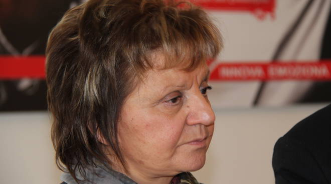 primo piano del sindaco di Erba Marcella Tili