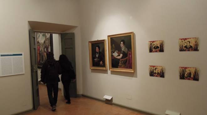 interno pinacoteca como