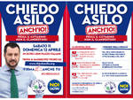 MANIFESTO LEGA CHIEDO ASILO