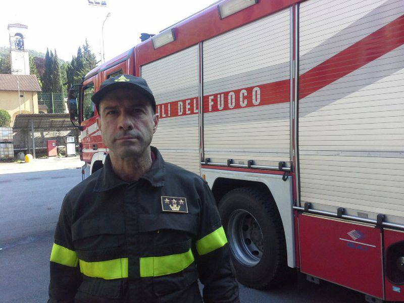Abate comandante pompieri