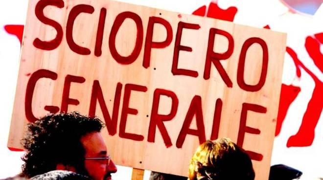 cartello sciopero