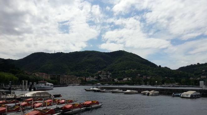 cielo nuvole lago sant'agostino