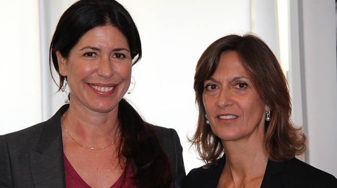 Francesca Catelli e Giovanna Ambrosoli