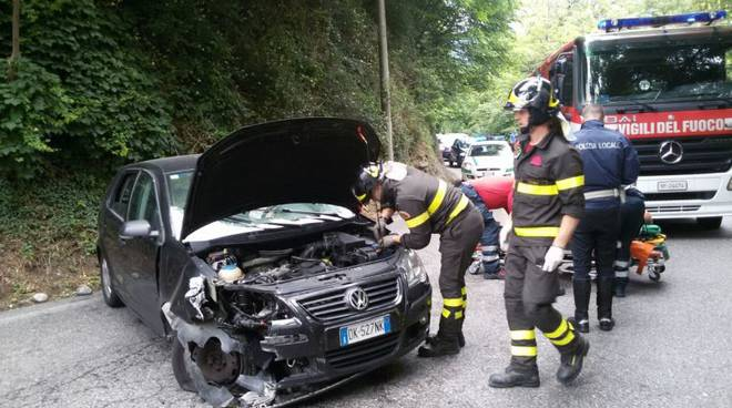 incidente Garibaldina pompieri