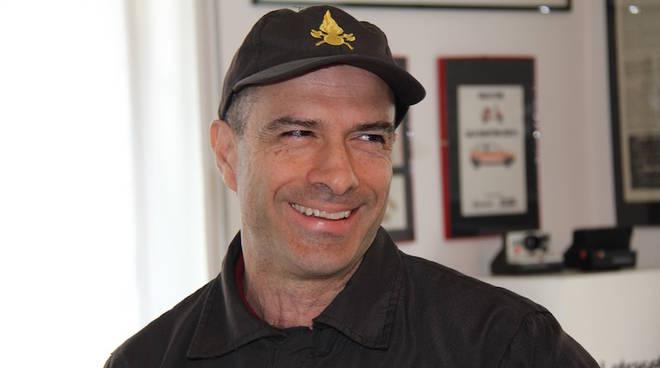 Mario Abate oggi nel salotto di Como Caffe