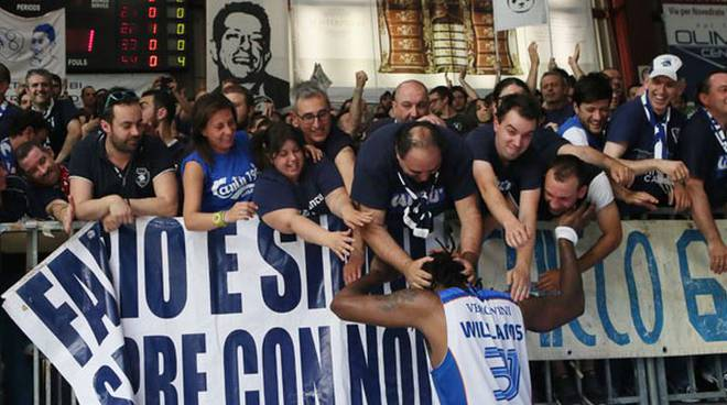 williams festa con i tifosi