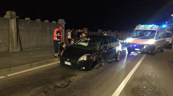 ambulanze via canturina incidente