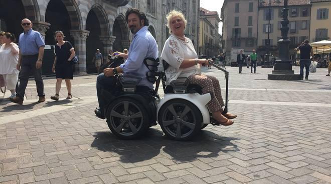 genny mobility prova con maroni a como