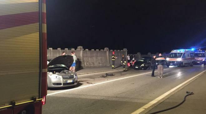 le auto coinvolte incidente canturina
