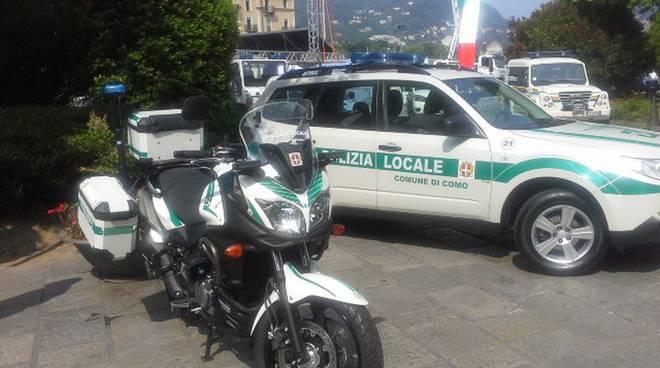 polizia locale como 2 giugno