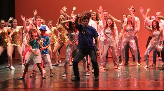 saggio sociale danza zanetti balla