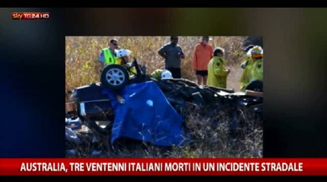 auto mortale incidente australia