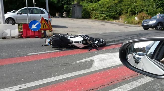lipomo incidente moto
