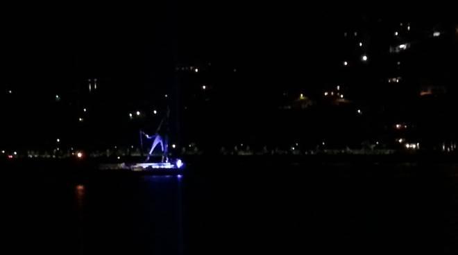 monumento libeskind prima notte