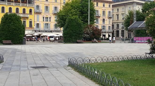 piazza cavour deserta