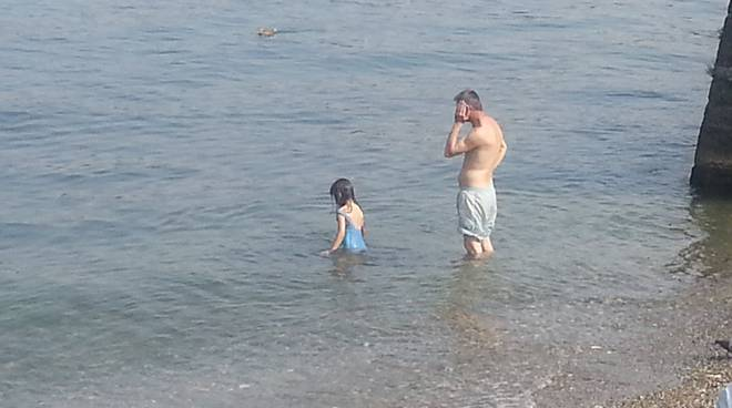 villa olmo padre e figlia a mollo