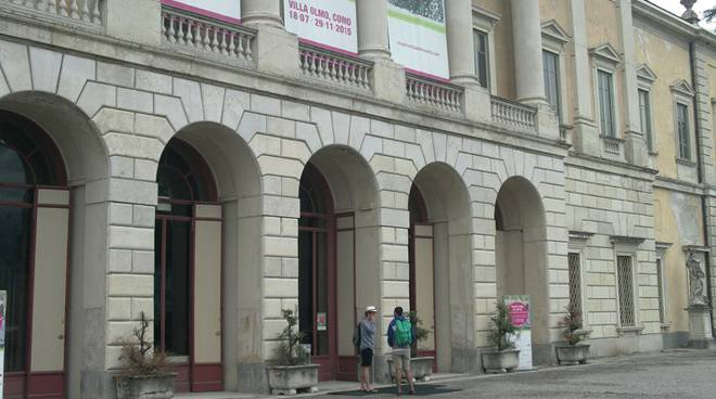 ingresso mostra villa olmo