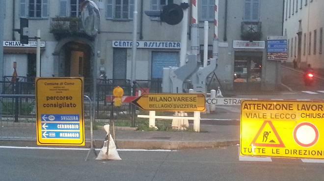 cartello viale battisti