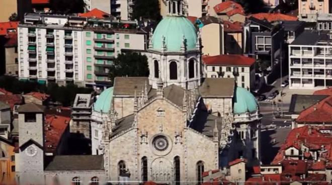 como città veduta cattedrale
