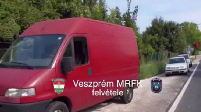 furgone del comasco arrestato