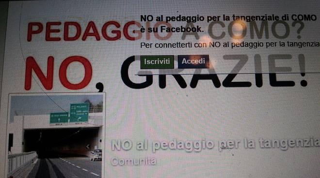 pagina facebook no al pedaggio