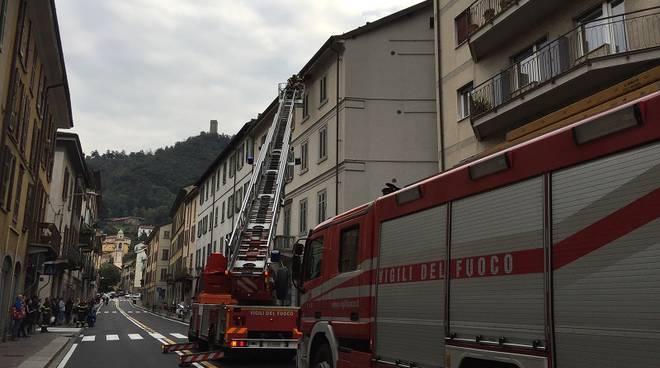 pompieri via milano como
