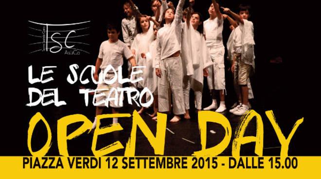 teatro sociale OPEN DAY manifesto calendario