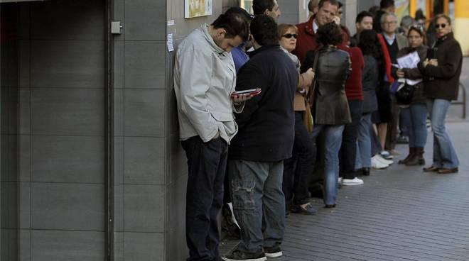 Crisi, disoccupazione record in Spagna