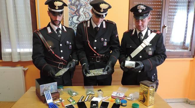 droga san fedele carabinieri