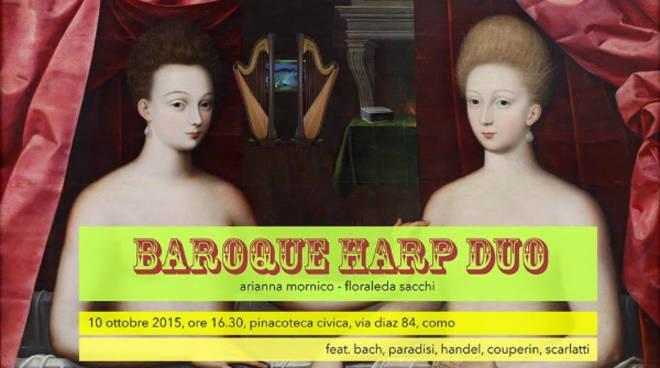 lakecomo festival baroque harp
