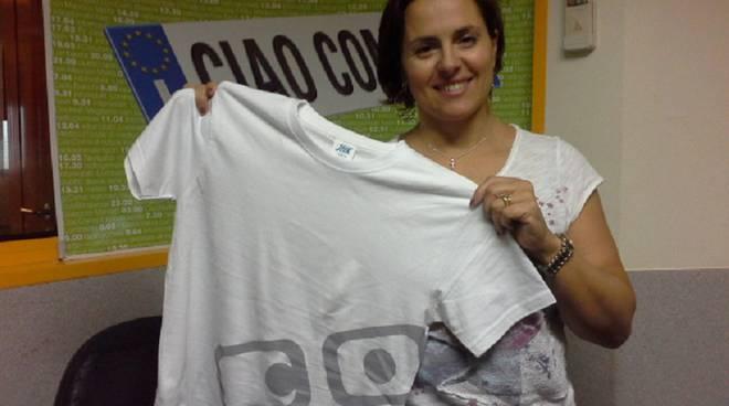 mamma giacomo con maglietta