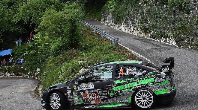 Paolo Porro, Paolo Cargnelutti (Ford Focus WRC #4, Bluthunder Racing Italy)