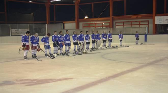 hockey como femminile schierata