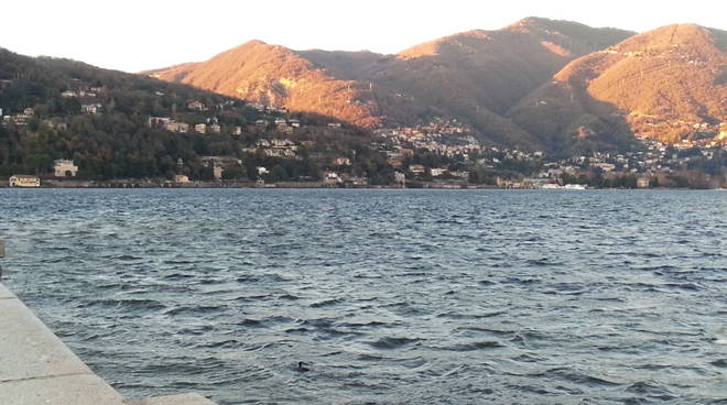 lago increspato