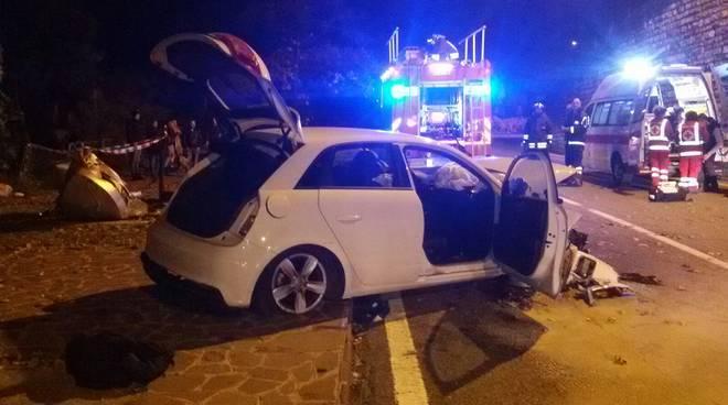 menaggio incidente auto