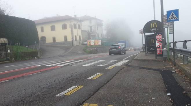 nebbia visibilità ridotta