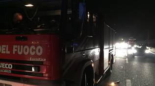 pompieri notte incidenti