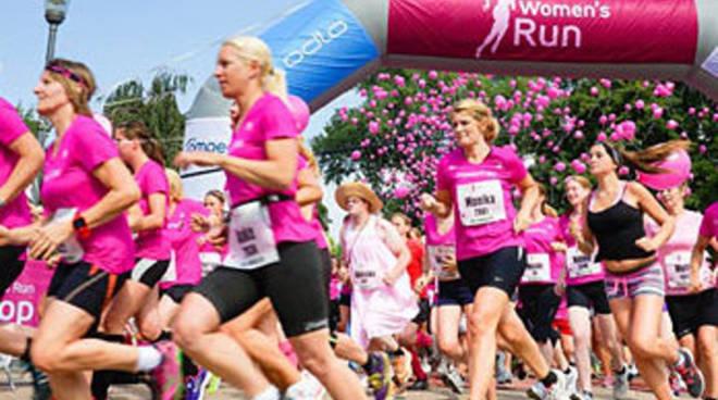 woman in run cover