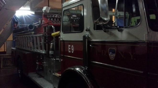 botte pompieri new york a como