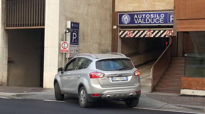 ingresso autosilo valduce